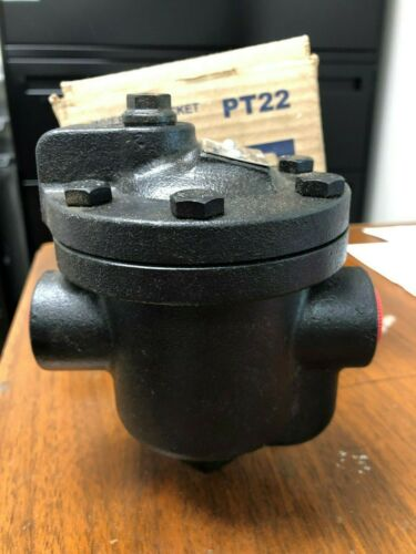 """PT22 Inverted Bucket Steam Trap 1/2"""" Threaded New In Box"""