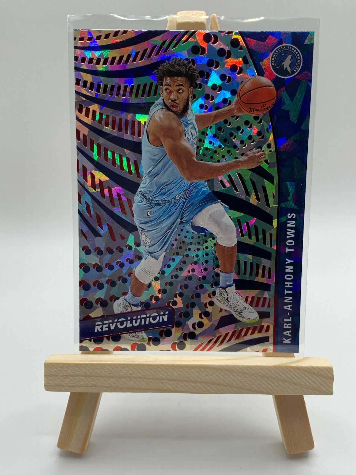 Karl-Anthony Towns 20-21 Revolution New Year Parallel #40 Minnesota Timberwolves