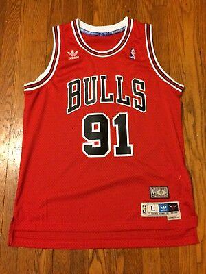3e83464e826 Dennis Rodman Chicago Bulls Swingman Jersey