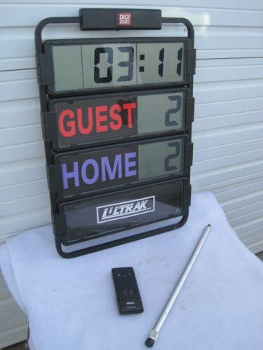Ultrak Multi-Sport Portable RF Remote Control wireless Scoreboard Score keeper