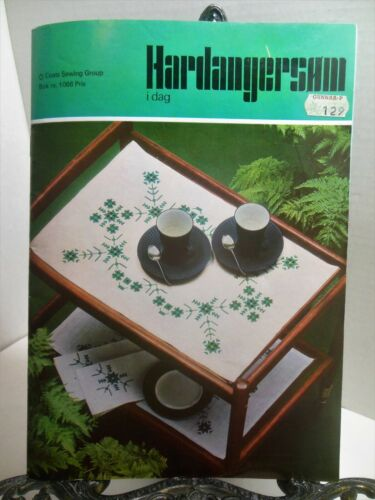 HARDANGER IN NORWEGIAN LANGUAGE Stitches Patterns Projects Bk 1066 Coats Sewing