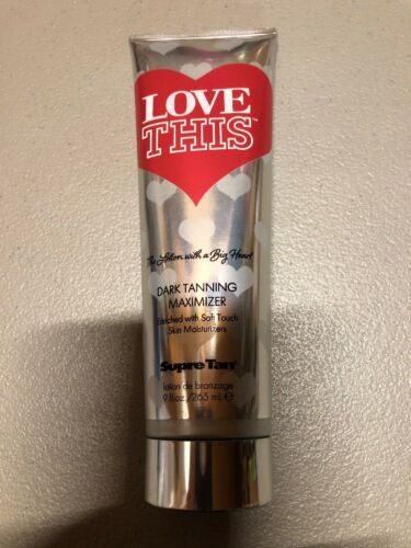 Supre Tan LOVE THIS Dark Tanning Streak Free Bronzer Indoor