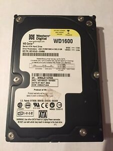 "Western Digital 160GB SATA Internal 7200RPM 3.5"" WD1600JD HDD"