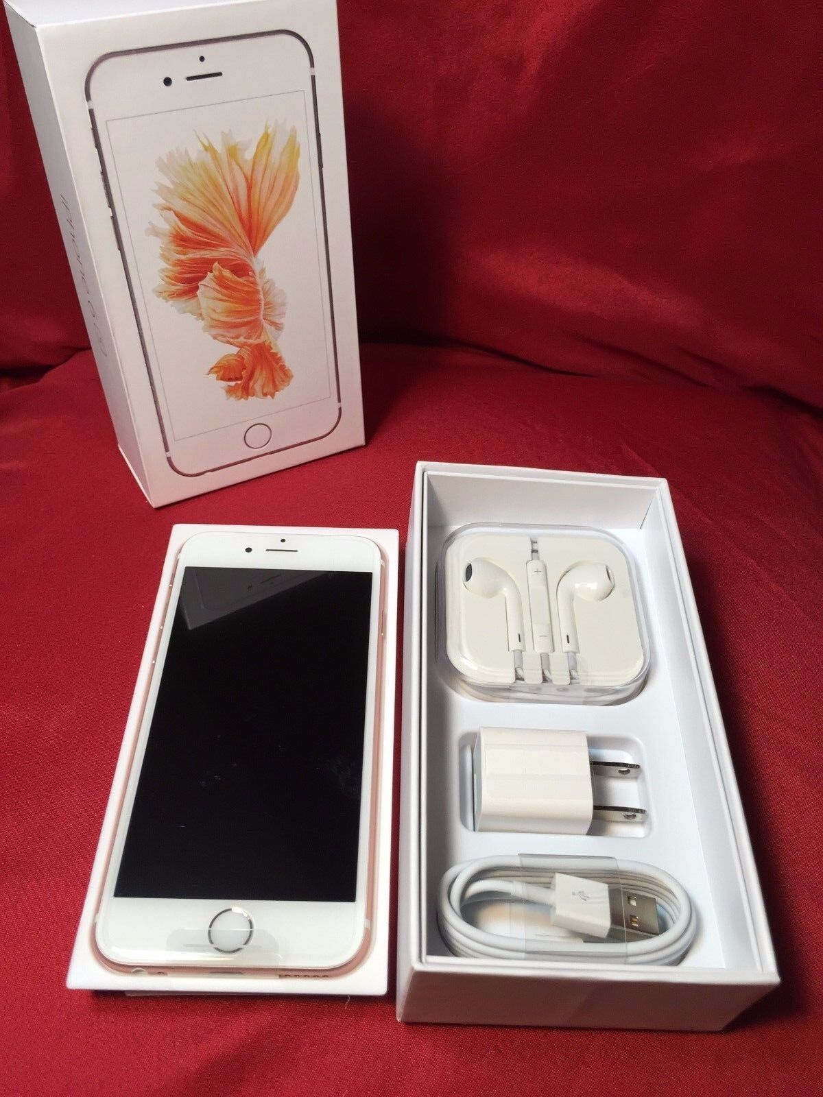 NEW Apple iPhone 6S or 6S Plus - (Unlocked) (T-Mobile) (AT&T) 16 64 128