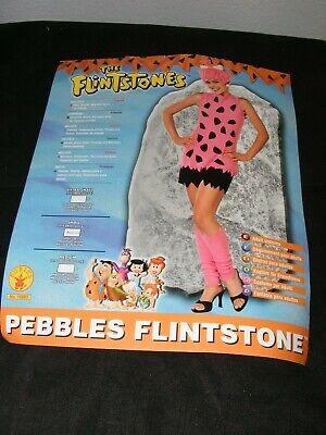 Flinstones Pebbles Cave Girl Woman Halloween Costume Size - Flinstone Kostüme
