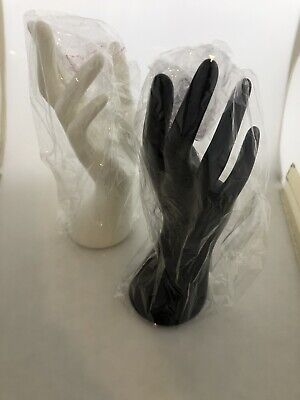 Female Black White Mannequin Hand Display Jewelry Bracelet Ring Stand Holder