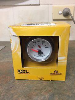 Autometer C2 Electric Oil Pressure Gauge #7127