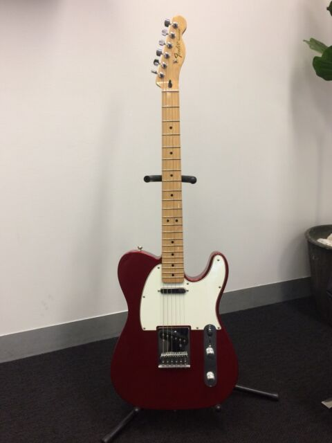 de7ab00c592 Fender telecaster (Mexican) Red -JC147166 | Guitars & Amps ...