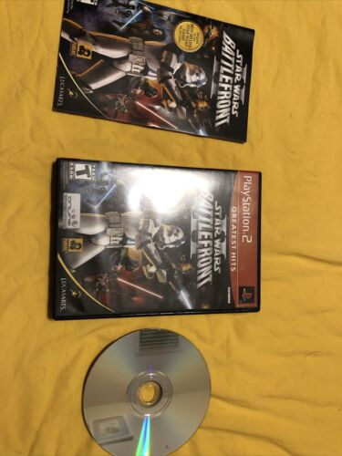 Used Star Wars Battlefront II PlayStation 2, 2005 Manual Included - $5.00