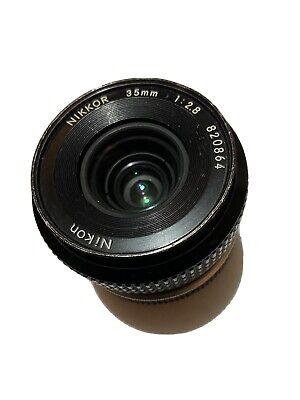 Nikon Nikkor 35mm 1:2.8 Pre AI segunda mano  Embacar hacia Mexico