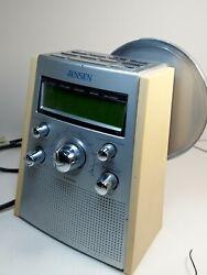 JENSEN - AM/FM Dual Alarm CD Player Clock Radio JCR-560 - Tested & Very Clean