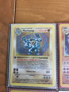 Machamp 8/102 1st edition