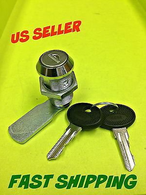 Lot Of 4 Cam Lock Keyed Alike Cabinet Mailbox Cupboard Chrome 050.30.01.50