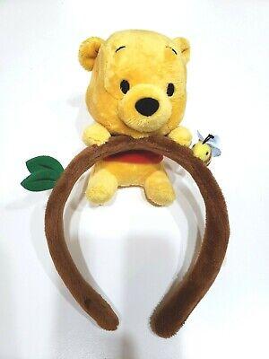 Pooh Ears (Tokyo Disney Resort Winnie the Pooh Headband Ears Hat Plush Doll Head Band)