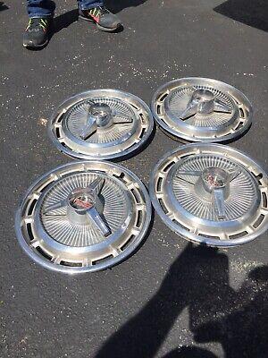 1965-67 SS Chevy  Nova Chevelle Hub Caps