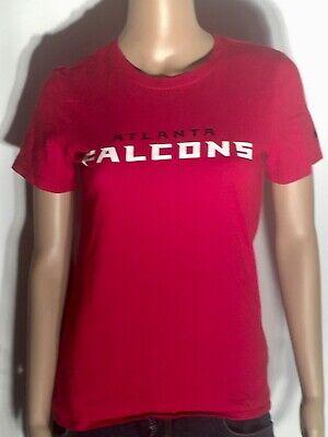 - Atlanta Falcons NFL Football Team Logo Nike Athletic Cut Womens Small S T-shirt
