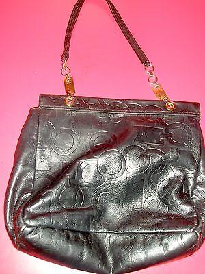 PRADA Black Handbag Italy Italian Leather