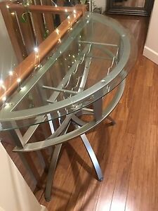 Wine Rack Accent Table