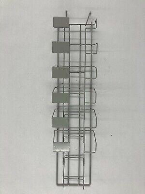 Spc Display Group Wire Hanging 6 Pocket Retail Book Rack 7200-54g