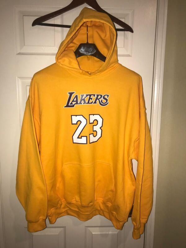 7de0e09bcebe LA Los Angeles Lakers Lebron James Home Jersey Hoodie Hoody Hooded  Sweatshirt ...