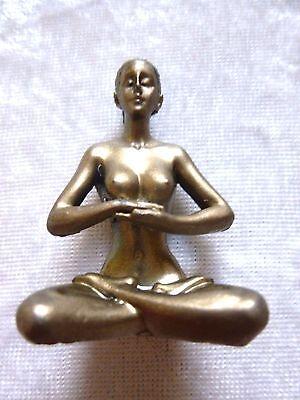 Yoga Girl Frau Figur Mini Ruhe Mitte VERSANDKOSTENFREI!