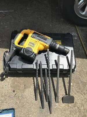 Dewalt D25501 Rotary Hammer Drill 6 Bits