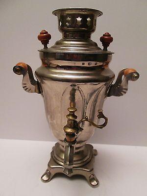 Russian Ele SAMOVAR Urn Hot Water Kettle Teapot Server Non Magnetic