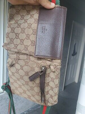 Vintage Brown Gucci Fanny Pack