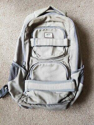 Vans grey backpack bag