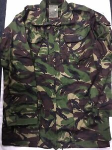 BRITISH DPM FIELD JACKET SMOCK COMBAT WOODLAND CAMO FIELD JACKET