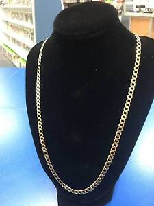 9ct Solid Gold Chain 19.5 grams 58 cm Mens or Ladies Adamstown Newcastle Area Preview
