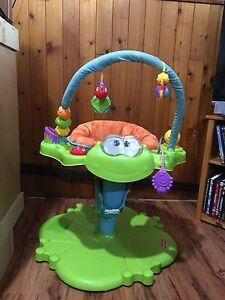 Fisher price bounce n' spin activity centre