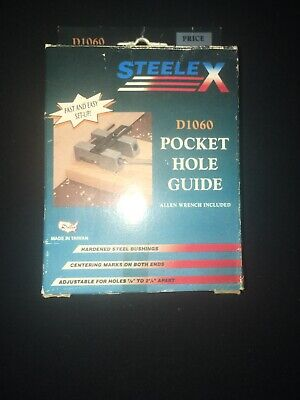Pocket Hole Guide Jig for Cabinet Face Frame & Furniture Making Used for sale  Pleasant Grove