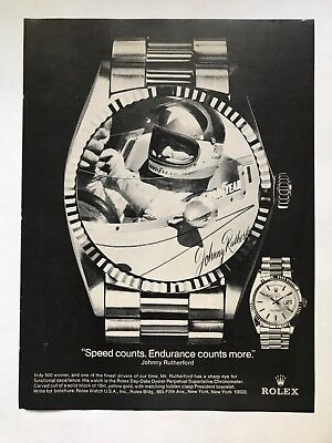 Rolex Day-Date Oyster Perpetual Superlative Chronometer Vintage 1980 Print Ad