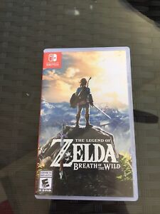 Legend of Zelda breath of the wild $50 bucks firm
