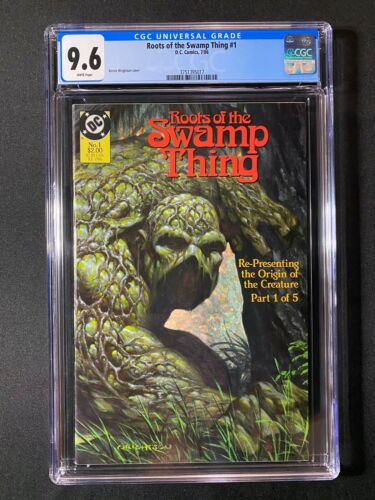 Roots of the Swamp Thing #1 CGC 9.6 (1986) - Very RARE CGC copy