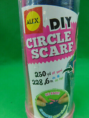 Alex DIY Circle Scarf Kids Craft Kit Yarn Knitting Sewing Activity Learn to - Alex Yarn Craft Kit
