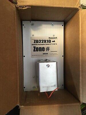 Honeywell Zd22x10 Rectangular Duct Zone Air Hvac Damper 24v
