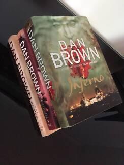Author: DAN BROWN BOOKS; Inferno, Da Vinci Code; Origin