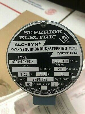 Superior Electric Slo-syn Mo93-fd-8014 Stepper Motor
