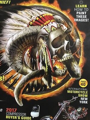 - AIRBRUSH ACTION MAGAZINE March-April 2017