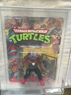 1988 TEENAGE MUTANT NINJA TURTLES Bebop Pink Face 75 Ex+/ NM 10 BACK Tmnt AFA - Teenage Mutant Ninja Turtles Face