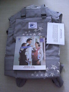 New ERGO Original Baby Carrier - Galaxy Grey with Infant Insert *Free Shipping*