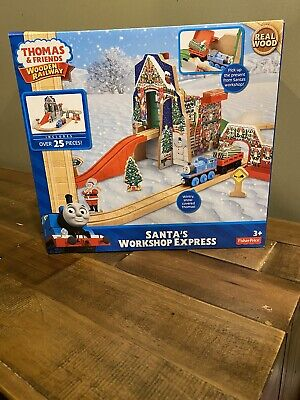 Thomas & Friends Wooden Railway Santa's Workshop Express - Brand new!