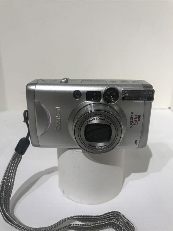 Canon Sure Shot 150u Date 38-150mm Zoom Point & Shoot 35mm  Film Camera