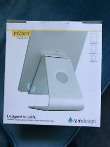 Rain Design adjustable iPad stand.