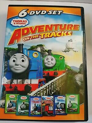 Thomas Friends: Adventures on the Tracks (DVD, 2011, 6-Disc Set)
