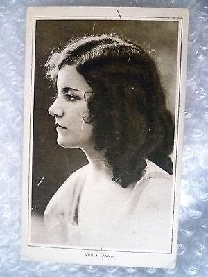 Postcard- VIOLA DANA American actress of More than 100 silent films