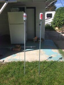 Beersbee poles, camping, outdoor games
