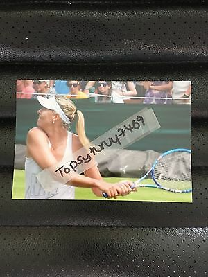 Maria Sharapova Tennis Photo Aegon Wimbledon 2017 6X4 Inch
